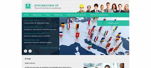 af5319d22 pracaeuropa.sk - Web s doménou na predaj v aukcii - dražba